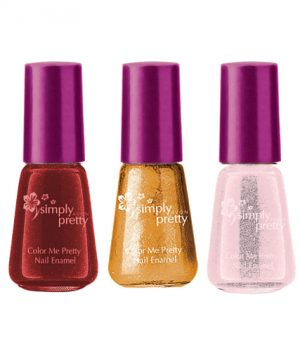 Avon Color Me Pretty Nail Enamel (set of 3)