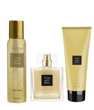 avon-little-gold-dress-combo-edp-deodorant-skin-softener
