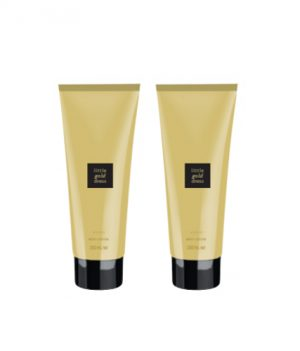 Avon Little Gold Dress Body Lotion (combo set)
