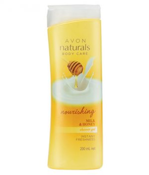 Avon Naturals Milk & Honey Body Shower Gel 200ml