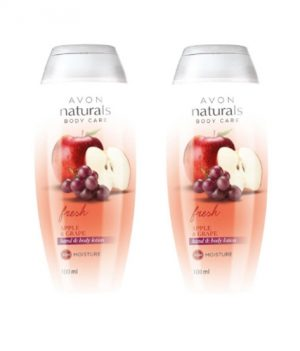 Avon Naturals Apple & Grape Hand & Body lotion (combo set)