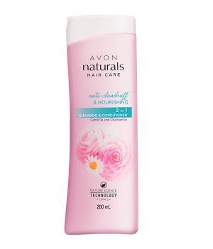 Avon Naturals Camellia & Chamomile Anti-Dandruff Shampoo & Conditioner 200ml