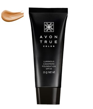 Avon True Color Ideal Luminious Cashmere Advanced Foundation SPF 25 - 25g (Cream Beige)