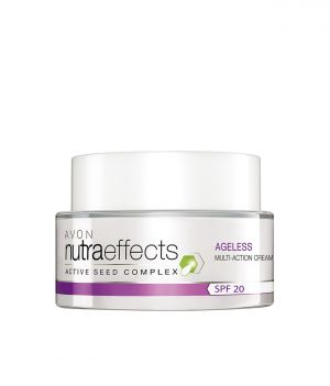 AVON NUTRA EFFECTS AGELESS MULTI-ACTION DAY CREAM SPF20 50G