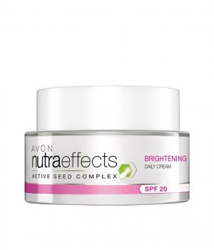 AVON NUTRA EFFECTS BRIGHTENING DAILY CREAM  SPF20 50G