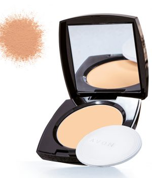 Avon True Color Luminious Presses Powder - deep wheat