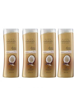 avon-naturals-divine-shine-shampoo-conditioner-set-of-4-of-200-ml-each