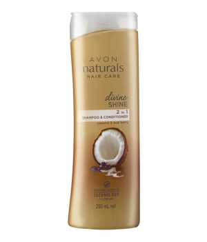 Avon Naturals Divine Shine Shampoo & Conditioner (200ml)