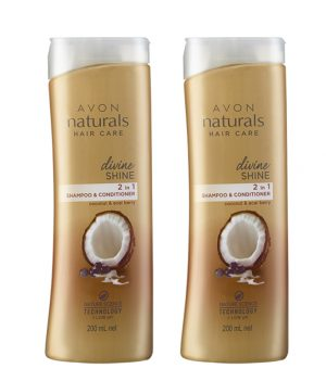 Avon Naturals Divine Shine Shampoo & Conditioner (set of 2 of 200 ml each)