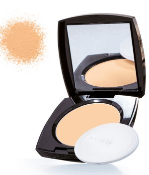 Avon True Color Luminious Presses Powder - fawn