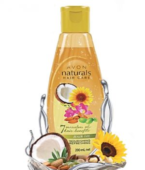 Avon Naturals Nourishing & Refreshing Hair Oil 200ml