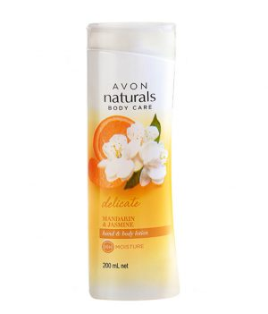 Avon Naturals Mandarine & Jasmine Body Lotion 200ml