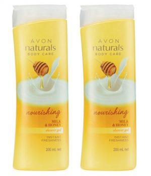 Avon Naturals Milk & Honey Body Shower Gel (combo set)