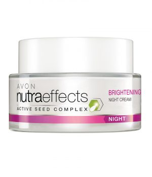 AVON NUTRA EFFECTS BRIGHTENING NIGHT CREAM 50G