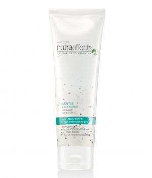 AVON NUTRA EFFECTS GENTLE 3 IN 1 SCRUB 100G