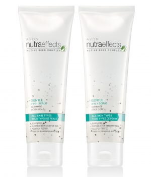 AVON NUTRA EFFECTS GENTLE 3 IN 1 SCRUB (SET OF 2 OF 100G EACH)